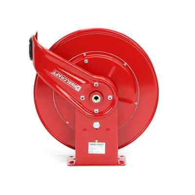 7650 Olp New Reelcraft Heavy Duty Bare Hose Reel W 38 X 50 Air Hose Stop