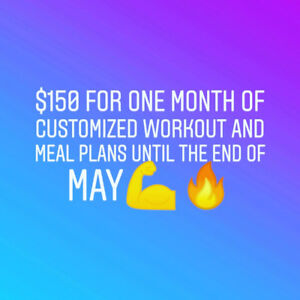 Workout and Meal Plans