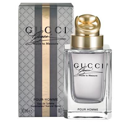 GUCCI MADE TO MEASURE POUR HOMME 3.0 oz edt Men Cologne NEW IN BOX