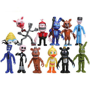 Five Nights At Freddy's FNAF World PVC Figures (12 pc) *NEW*