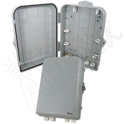 Altelix 15x10x5 Nema 4x Polycarbonate Abs Weatherproof Enclosure