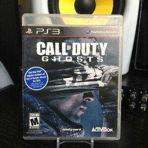 PS3 - Call of Duty Ghosts $5