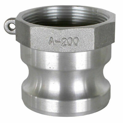 3 Stainless Steel Male Cam-lock With Female Threads