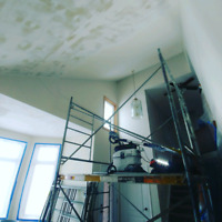 Dustless Popcorn Ceiling Removal