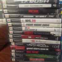 15 ps2 games for sell or trade