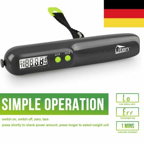 Digitale Kofferwaage Gepäckwaage Tragbare Hängewaage LCD-Anzeige bis zu 50kg DHL
