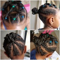 Back to school $25 kids Elastic band hair styles for Girls♡