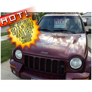 2002 Jeep Liberty SUV, Crossover loaded
