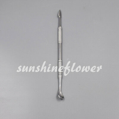 Dental Lab Stainless Steel Cement Wax Spatula Spoon Double Ended Instruments