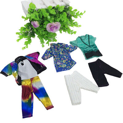 1 Set Doll Clothes Suit For Ken Fashion Handmade Coat For Dolls Pants