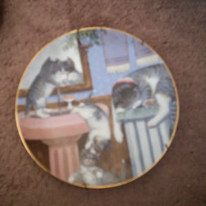 Country Kitties plate collection London Ontario image 2