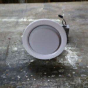 Recessed light for wet location.