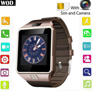 Smart Watch for Android/Iphone with SIM Card/SD CARD SLOT/CAMERA
