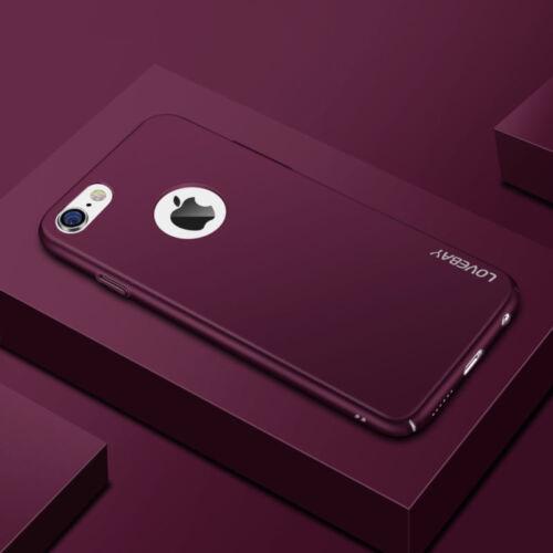 iPhone X 6s 7 XS XR Ultra Slim Luxury Matte Shockproof Case Hard Back Cover Skin