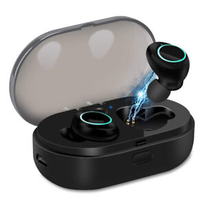 U-ROK Bluetooth 5.0 Wireless Earbuds with 800mAh Charging Case