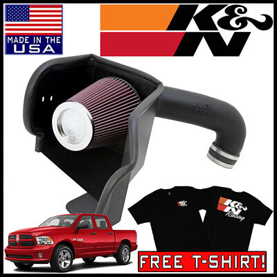 K&N AirCharger Cold Air Intake System fits 2009-2019 Dodge Ram 5.7L V8
