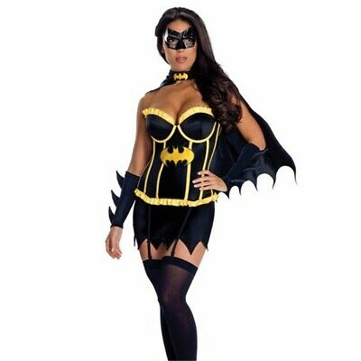 Womens Batgirl fancy dress outfit, superhero, Batwoman outfit - Bat Woman Outfit
