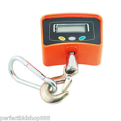 500 KG / 1100 LBS Digital Crane Scale Heavy Duty Industrial Hanging Scale