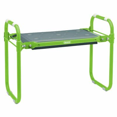 DRAPER FOLDING METAL FRAMED GARDENING SEAT OR KNEELER SUMMER COMFORT 64970