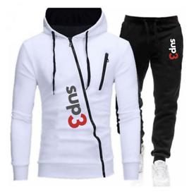 Sup3 New Mens Designer Tracksuit - Mens Sportswear