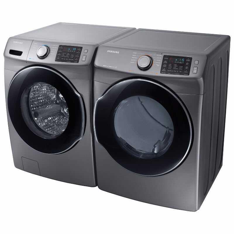 Samsung Wf45m5500ap Steam Washer Amp Dryer Pair Only 1690