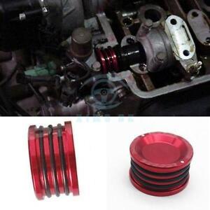 B16 B18 B17 B20 GSR SI Red ENGINE CAM SHAFT SEAL COVER CAP PLUG ALUMINUM BL