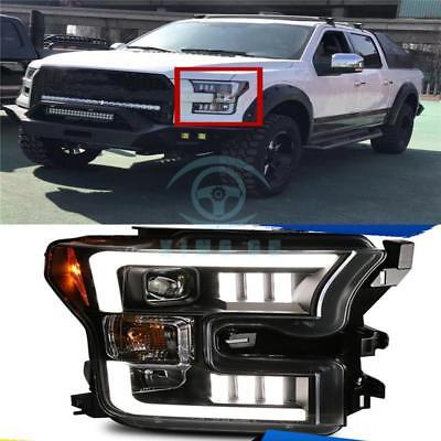 1*Refit For Ford F150 2015-2017 car Lens Headlight Assembly LED Xenon HeadLamp