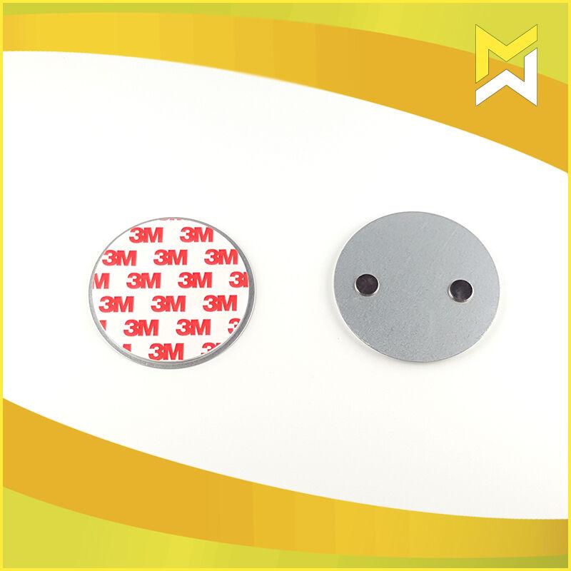 1 100 st ck magnethalterung magnetbefestigung rauchmelder magnet befestigung ebay. Black Bedroom Furniture Sets. Home Design Ideas