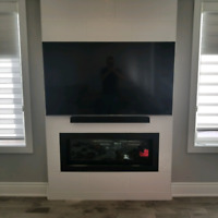 Tv wall mounting installer servicing Ottawa and Gatineau region