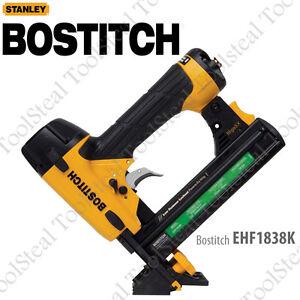 Bostitch EHF1838K 18ga Engineered Hardwood Flooring Stapler With Warranty