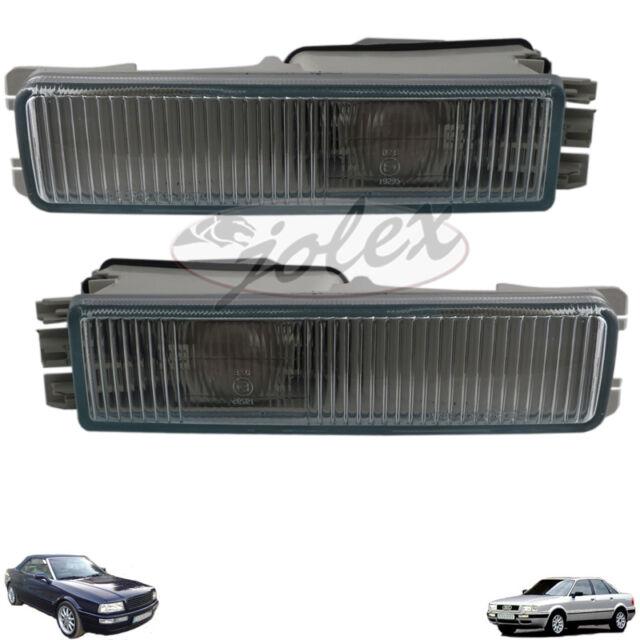 Nebellampe Nebelscheinwerfer rechts+links Satz Set Paar Audi 80 8C B4 Cabrio NEU