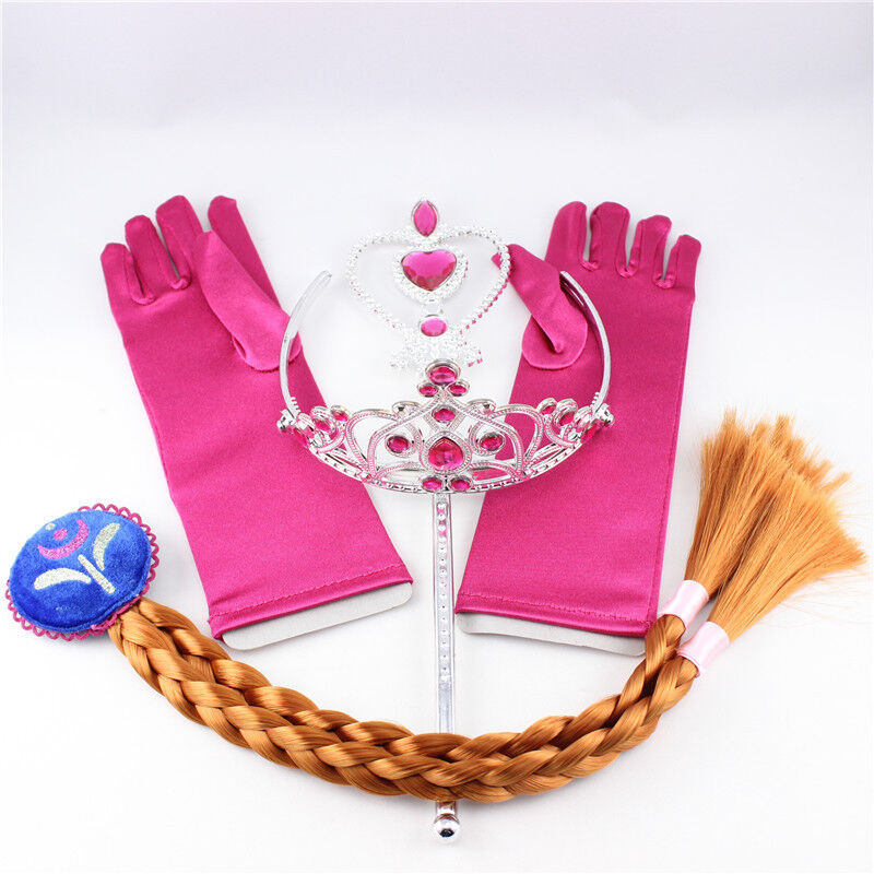 Anna Crown Wand Braid Gloves