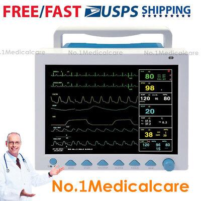 Contec Cms8000 Patient Monitor Portable Icu Ecgnibpspo2prresptemp Usa Fedex