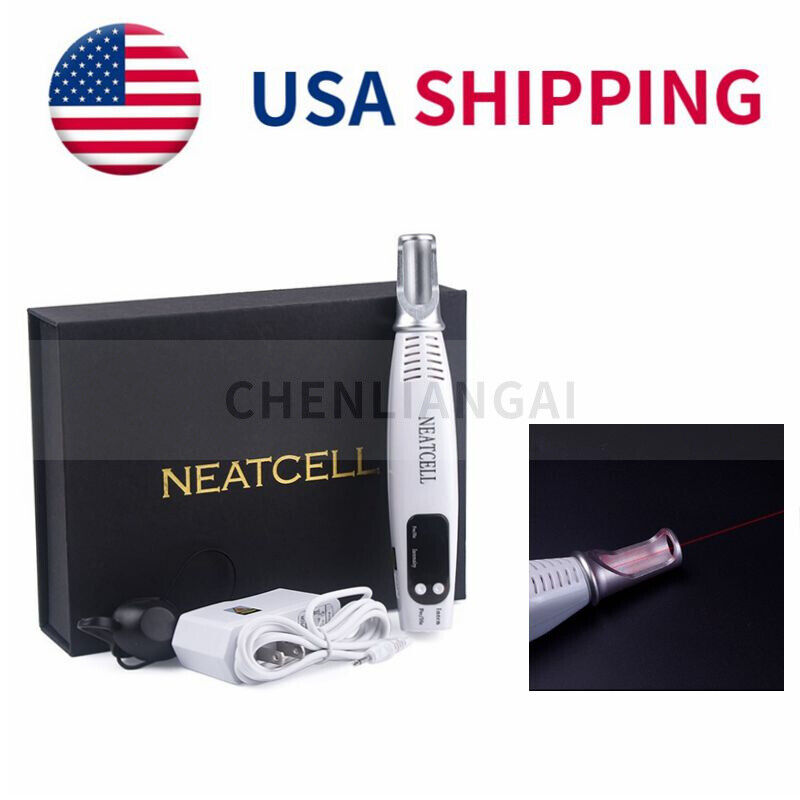 Red Light Picosecond Laser Pen Scar Spot Freckle Mole Tattoo Pigment Removal US