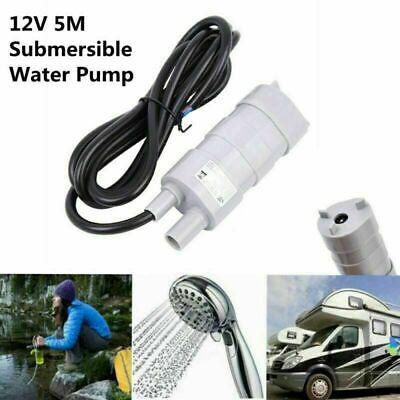 12V Water Pump Caravan Submersible Whale Camper Motorhome High Flow 12 Volt