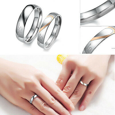 Ring - 925 Sterling Silver Jewelry Filled Wedding Love Promise Engagement Wedding Ring