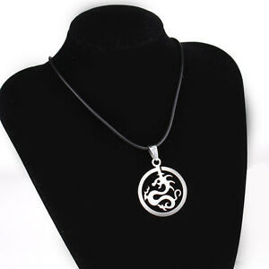 Stainless steel Necklace Pendants For Men Boys Leather Chains Kitchener / Waterloo Kitchener Area image 7
