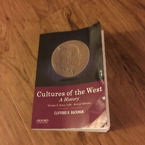 Cultures of the West: A History Volume 2 since 1350