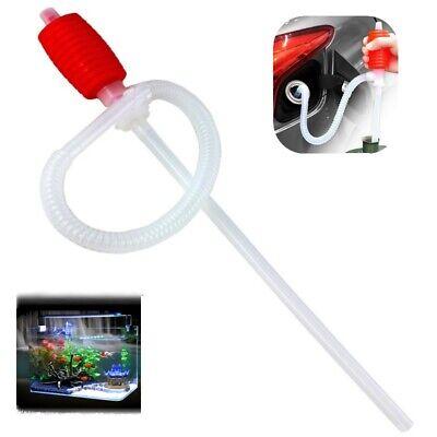 Car Manual Hand Long Siphon Pump Hose Wateroilgas Transfer Syphon Pump Kit