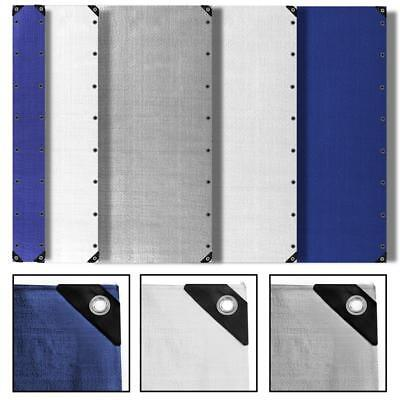 Abdeckplane Schutzhülle 90g/m², 180g/m² und 260g/m² Mehrzweckplane Gewebeplane