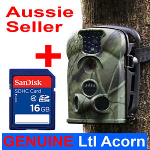 16GB 12MP Little Acorn Ltl-5210A Hunting Scouting Trail Camera Wildlife Game Cam