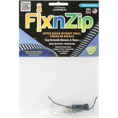 FixnZip Zipper Repair-Medium Nickel
