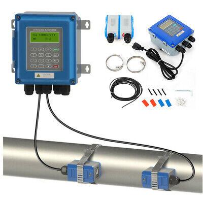 New Tuf-2000b Ultrasonic Liquid Flow Meter Rs485 Digital Flowmeter Dn25mm-100mm