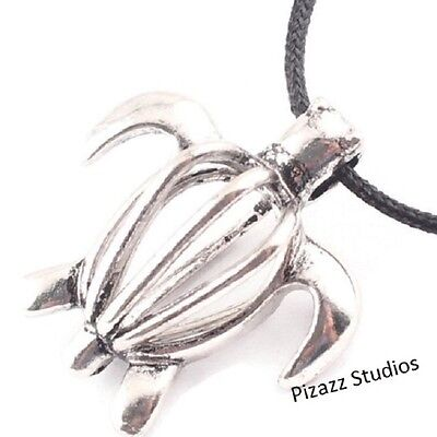 Silver Turtle Bead Pearl Cage Pendant For Akoyo Oyster Pearls Wish Locket 25 8