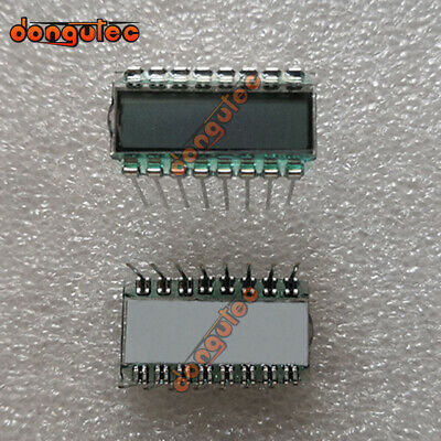 10pcs 16pin Tn Positive 6-digits Segment Lcd Panel 3.3v Without Backlight