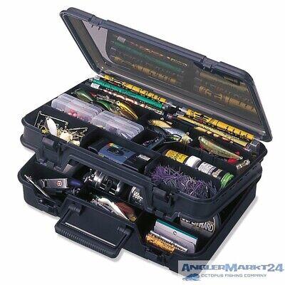 MEIHO VERSUS VS 3070 schwarz Doppelklappbox Angelkoffer Angelbox Angelkiste Box