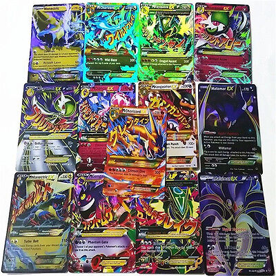 2016 Pokemon TCG: 20/60 Pcs Pokemon EX CARD, 47 Basic + 13 MEGA, Brand New !