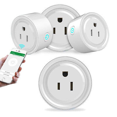WiFi Smart Phone Remote Control Timer Switch Power Socket Outlet US Plug