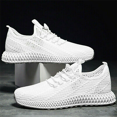 US Men's Mesh Breathable Tennis Gym Athletic Sneakers Sports