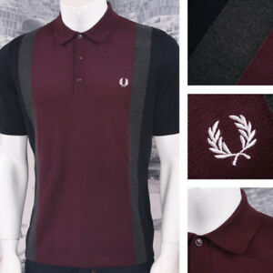 Fred Perry Polo shirt- Burgundy, Grey, Navy